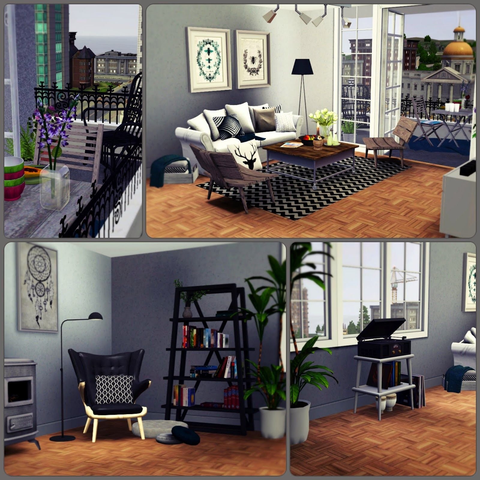 Apartment 13 F By Simberry Livingroom Sims 3 Download