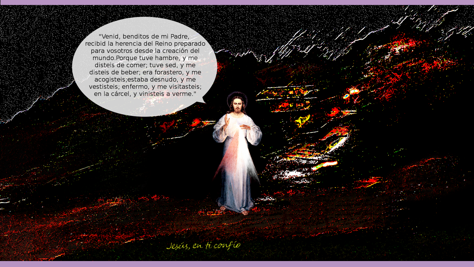 3 Hail Marys: mensaje de Jesus en cuaresma