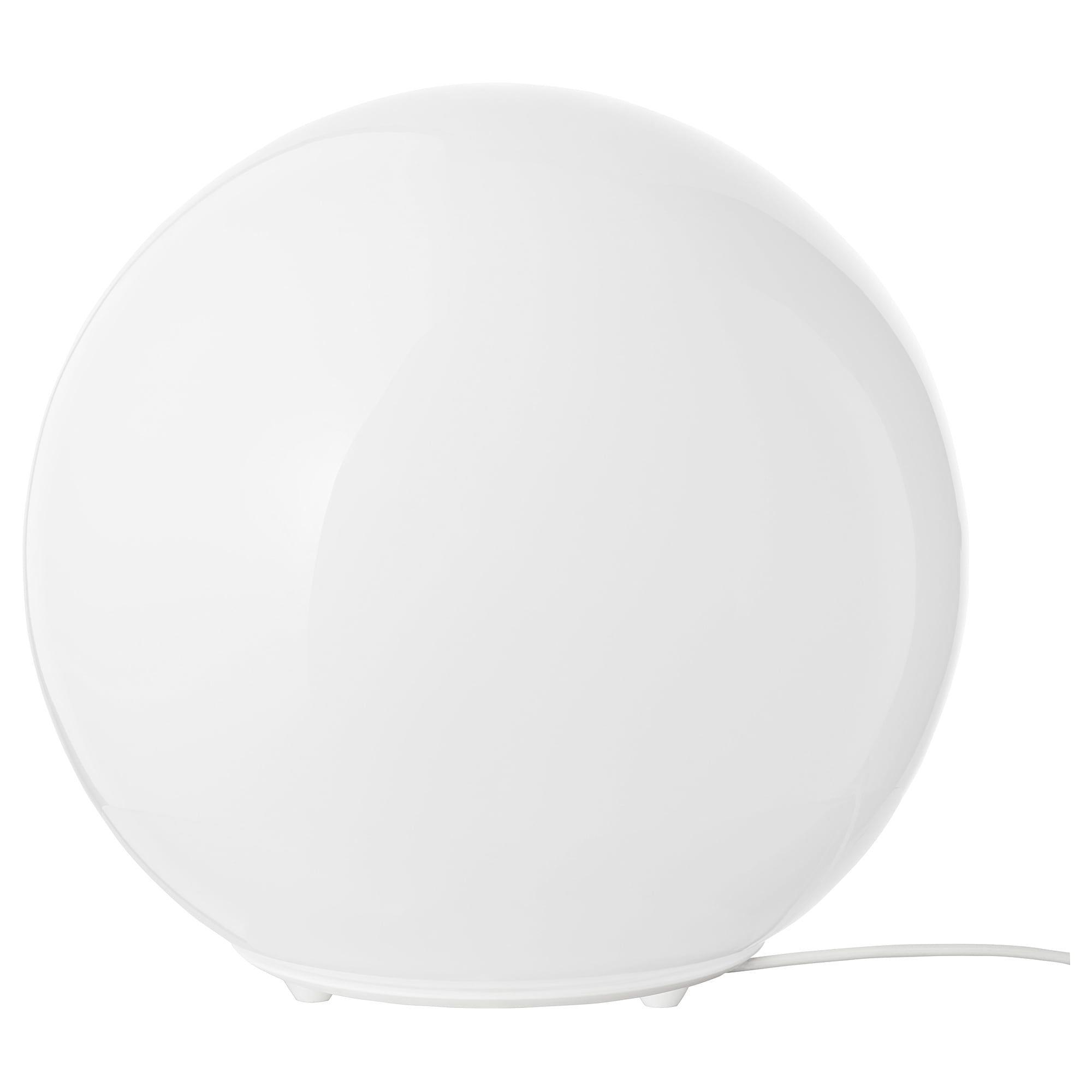 FADO Table lamp with LED bulb, white IKEA | White table