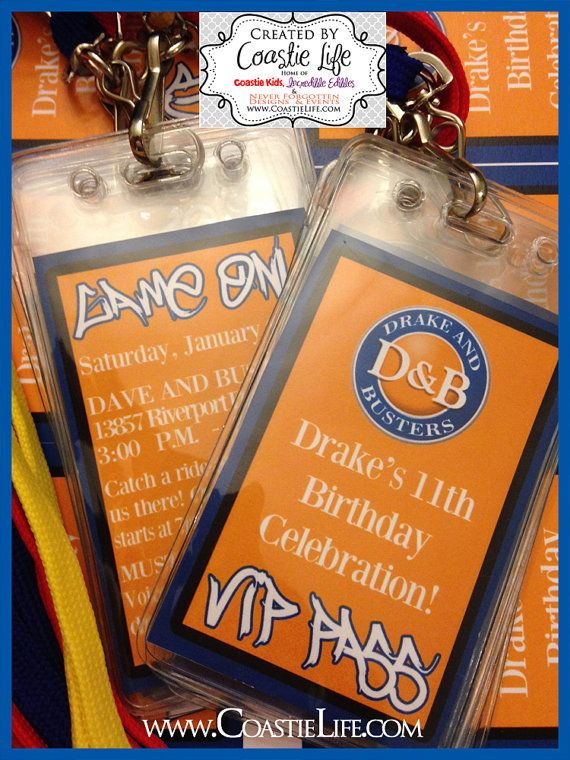custom dave and busters inspried vip passes badges by coastielife  these double a u2026