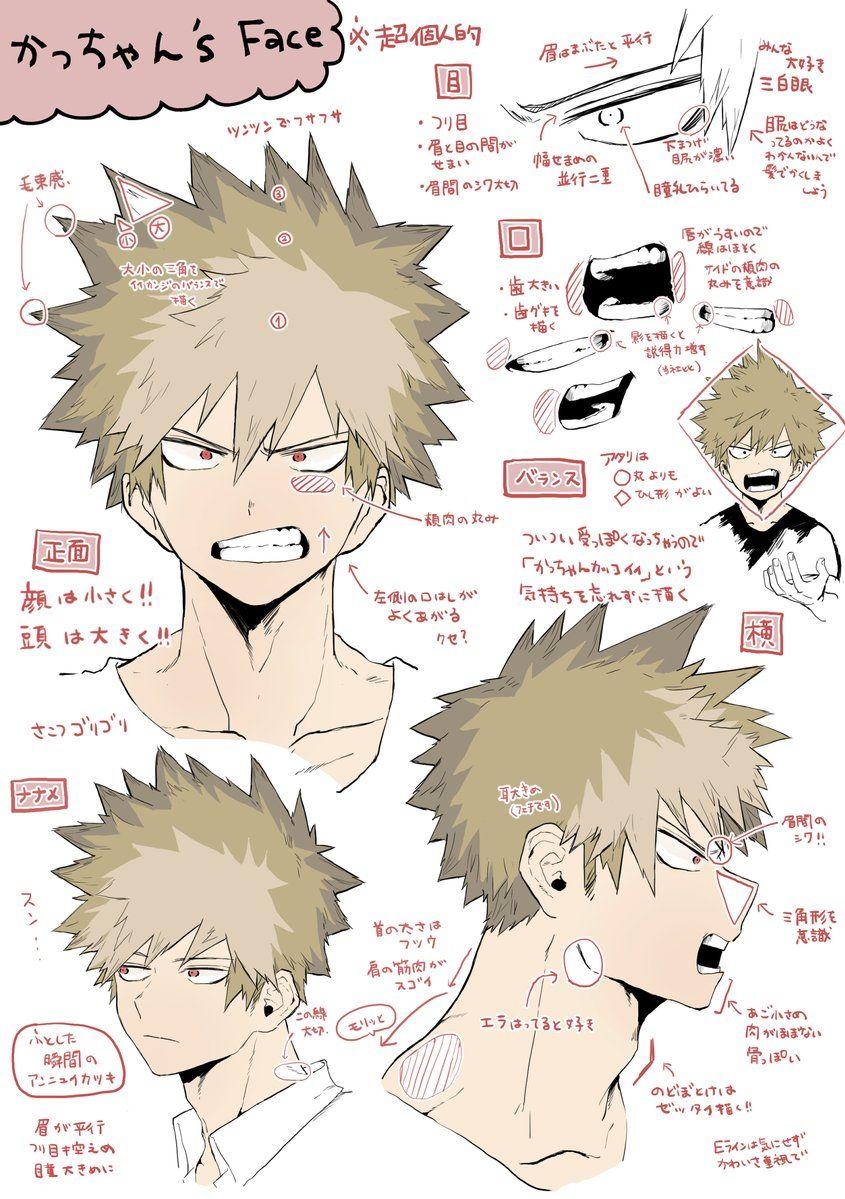 僕のヒーローアカデミア 爆豪勝己 イラスト Boku No Hero Academia