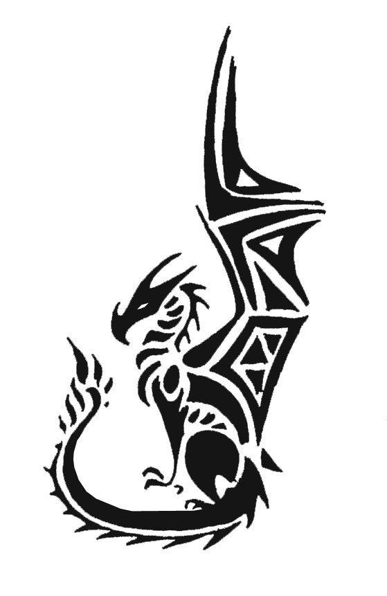 Henna Tattoo Design Tribal: Tribal Dragon3 By Mafagafa On DeviantART