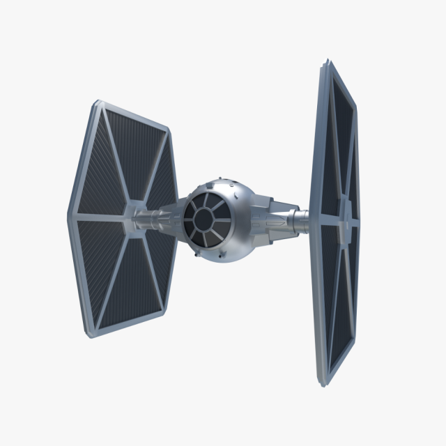 Star Wars Tie Fighter 3d Model Max C4d Obj 3ds Fbx Lwo Stl 3dexport Com By Sp3d Tie Fighter Star Wars 3d Model