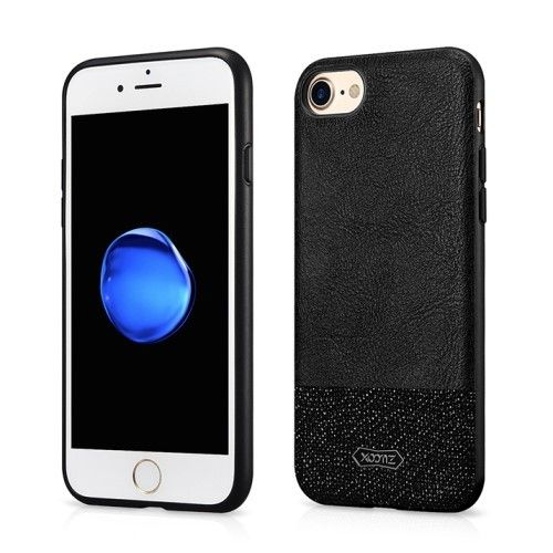 coque iphone 8 noir paillette