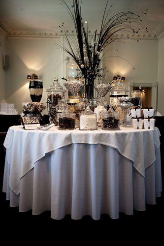 Follow Everyday Black Candy Buffet Candy Buffet Tables Candy Buffet