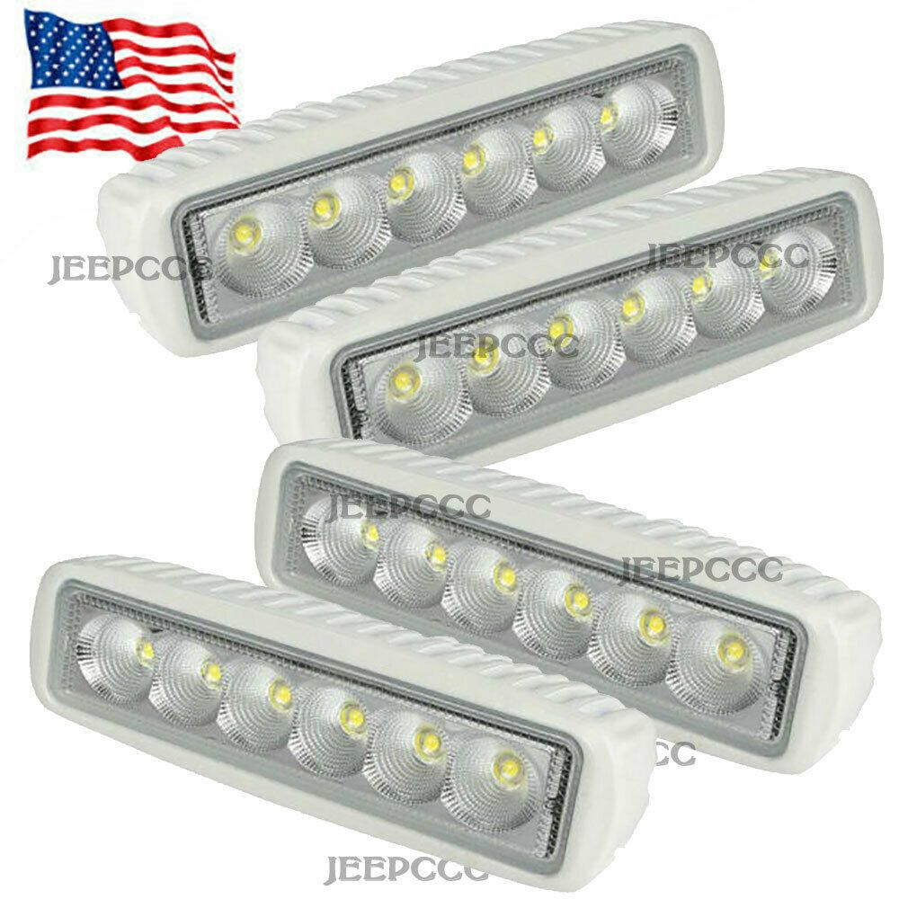 Sponsored Ebay Spreader Led Marine Navigation Deck Lights 4pcs For Boat Flood Light 12v Marine Led Lights Deck Lights Led Boat Lights