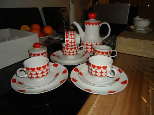 kaffeeservice mitterteich bavaria ebay kaffeeservice ebay retro m bel