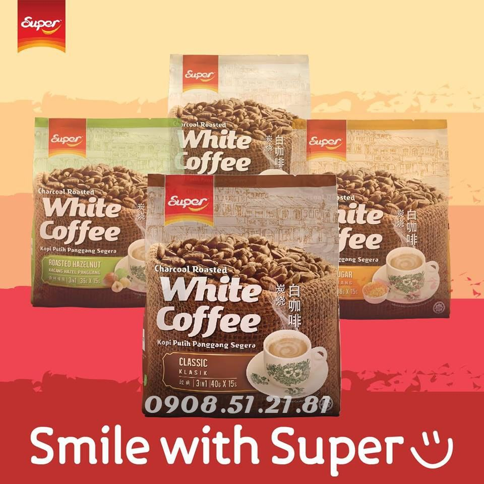 whitecoffee Super cafemalaysia classic hazelnut