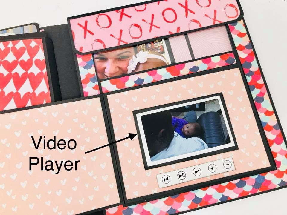 Have you ever wanted to add video to your Scrapbooks or Mini Albums