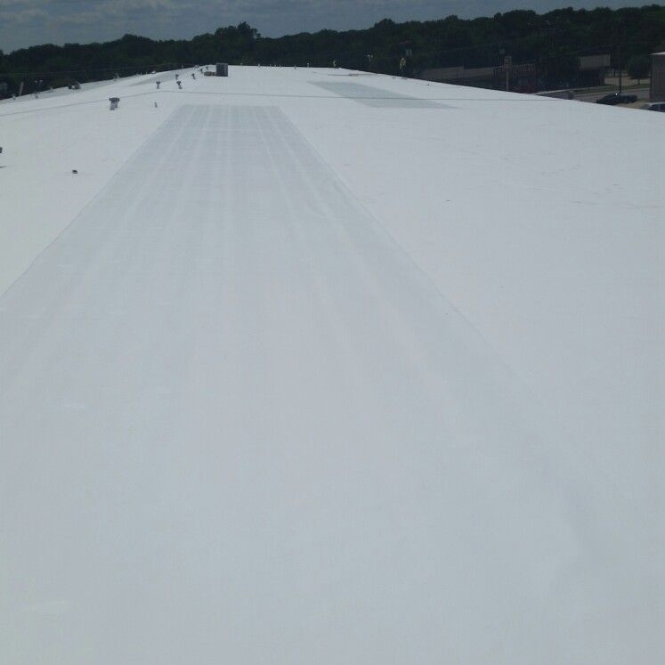Pin On Final Commercial Retrofit Tpo Roofing System Installed At 320 S Beltline Rd