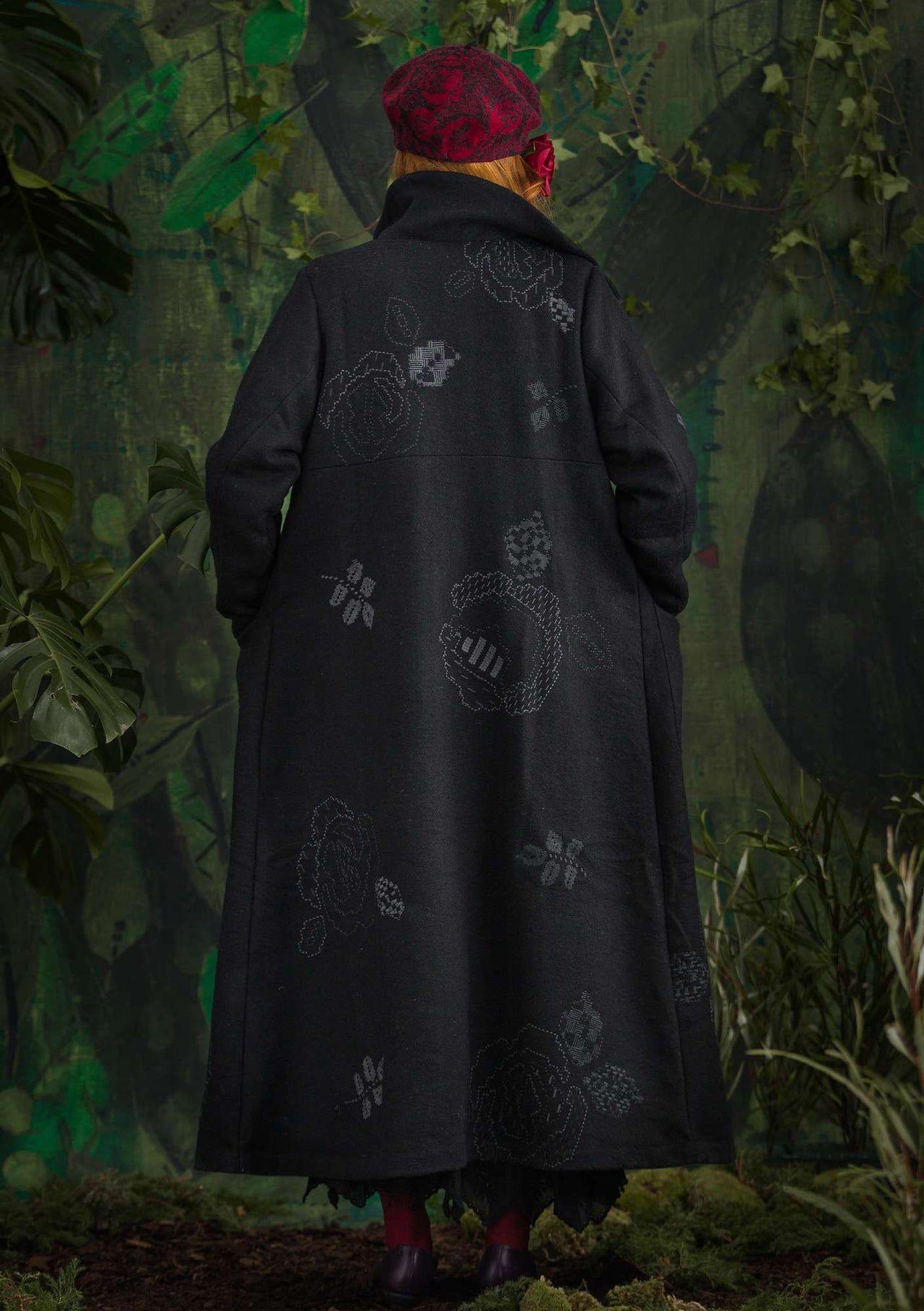 Skyttla Woll Blend Coat For Women Gudrun Sjoden Gudrun Sjoden Organic Clothing Boho Jacket Wool Blend Coat [ 1816 x 1280 Pixel ]