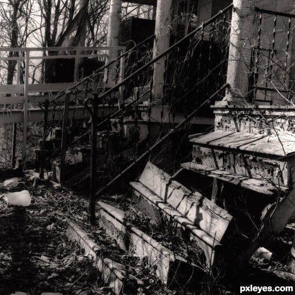 Abandoned Buildings, Broken Stairs