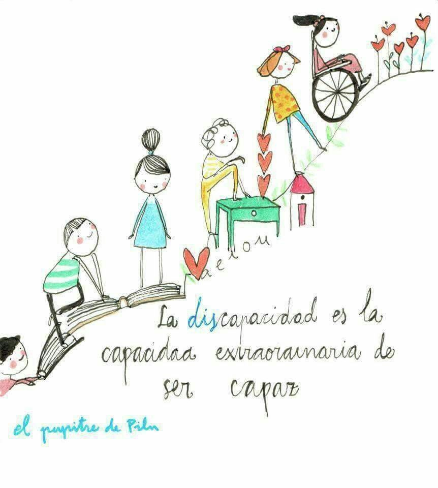 La Discapacidad Frases De Educacion Citas De Educación Y