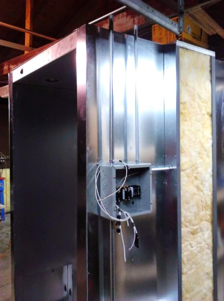powder coating oven build wiring 7 metal work powder coating oven build wiring 7