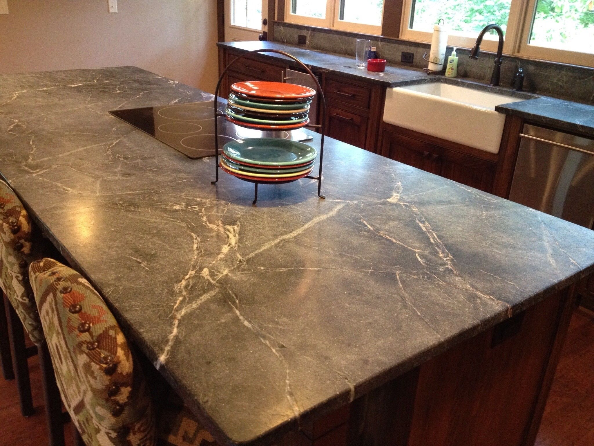 Remodel Kitchen Design With Soapstone Countertops Cost Plus Modern
