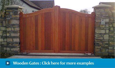 Gatepower Automatic Gates Wooden Gates Wrought Iron Gates