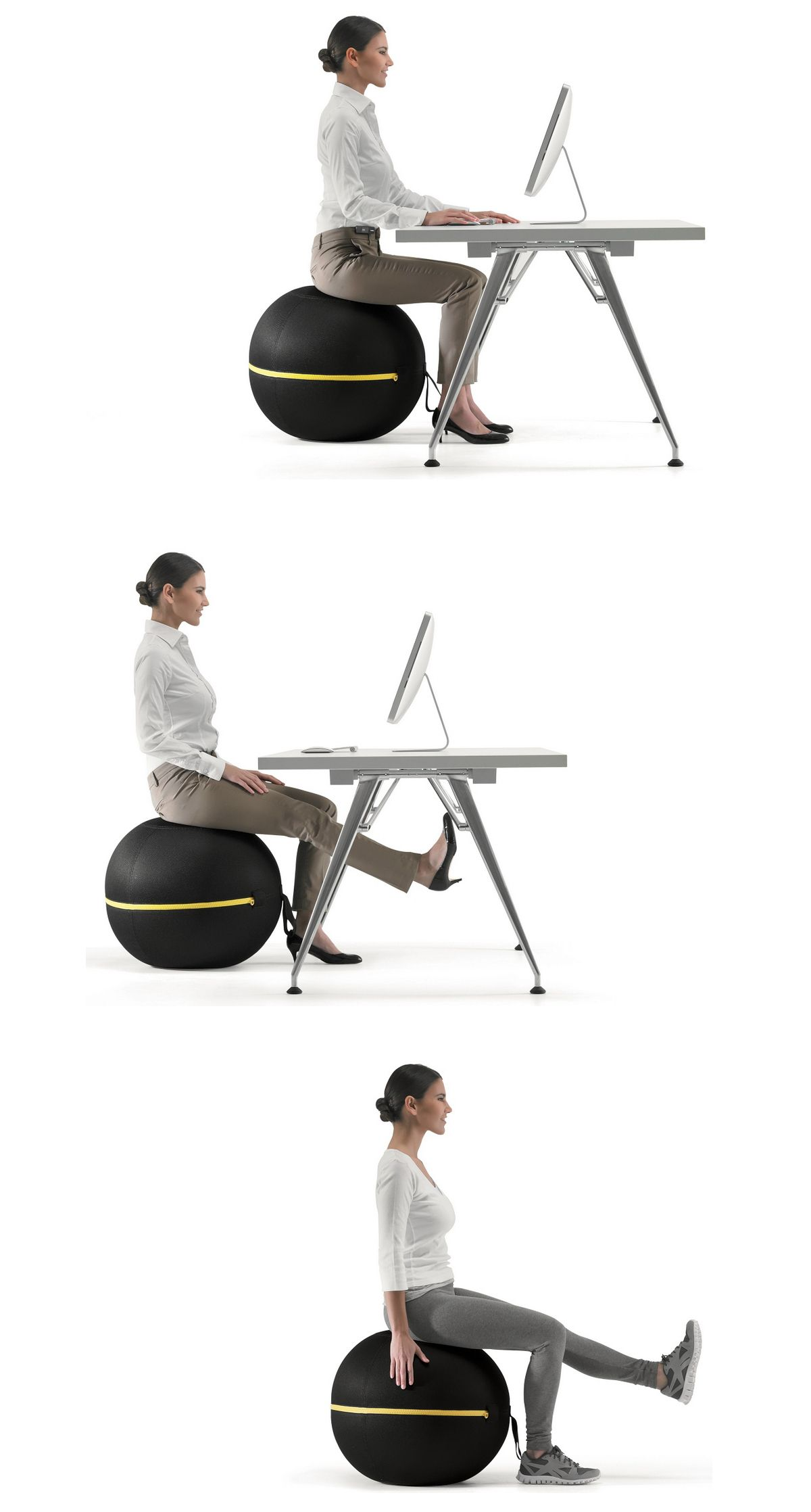 Active Sitting Chair Wellness Ball Active Sitting 办公室 Office Furniture Design