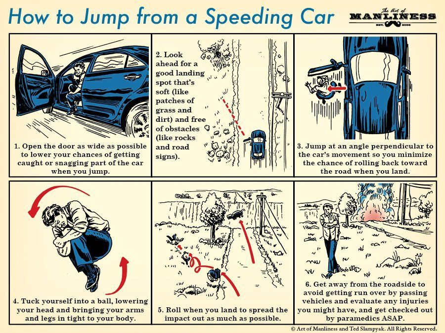 How to jump from a speeding car null pinterest coches how to jump from a speeding car malvernweather Images