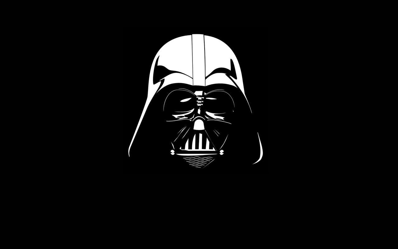 Lord Darth Vader Black And White Vader Wallpaper Starwars