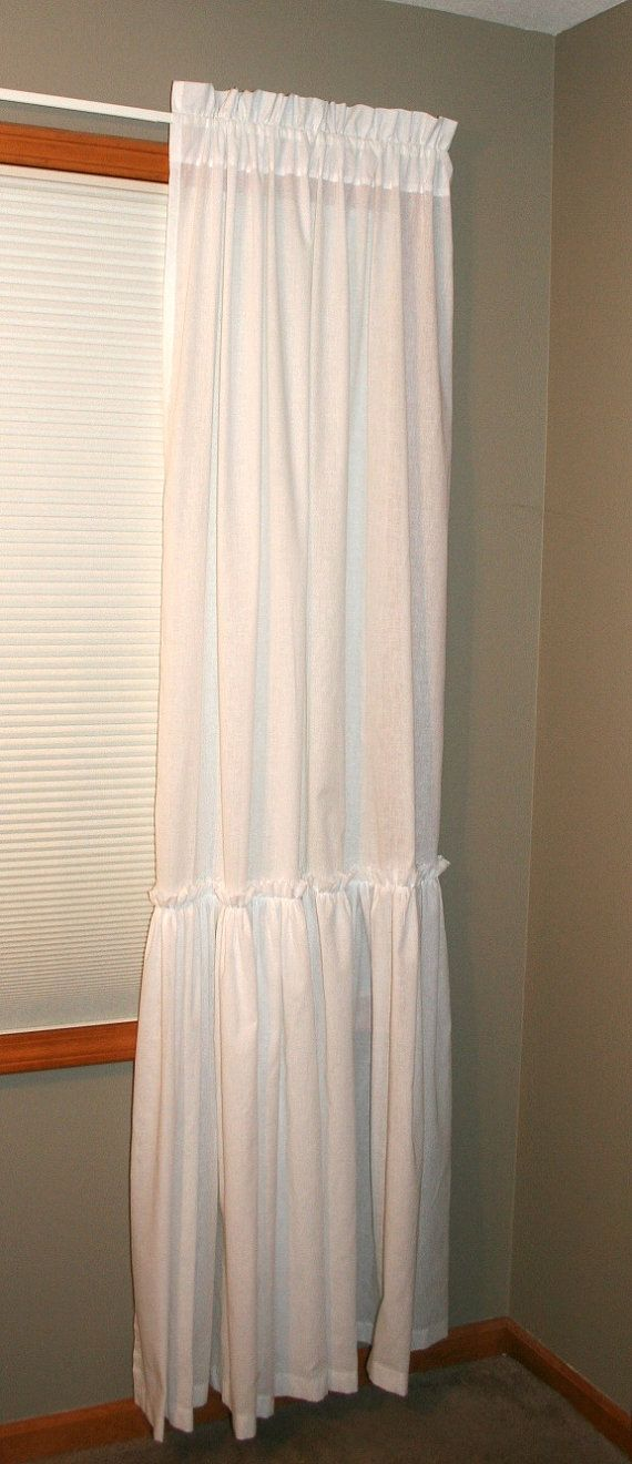 New Romantic Farmhouse Shabby Chic Single By Shadesupandco 50 00 Shabby Chic Bathroom Shabby Chic Shabby Chic Curtains