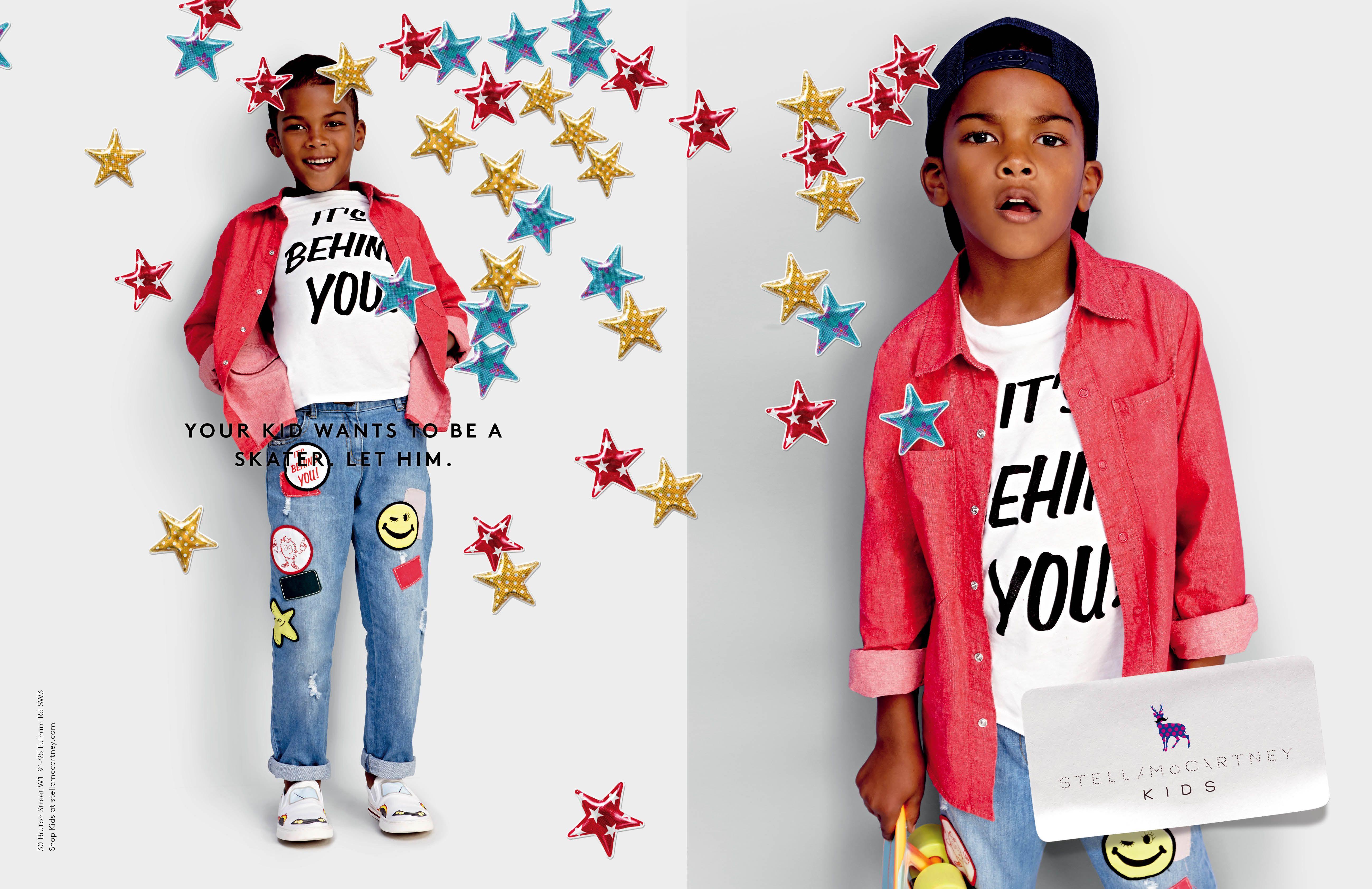 f1fae423dc86 The Stella McCartney Kids SS15 Campaign.  StellaKids