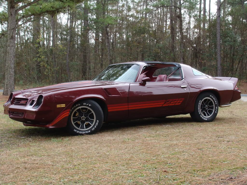 Joes 1980 z28 dark claret this is the exact replication of the z i had