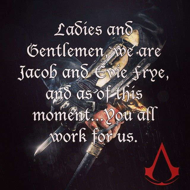 Creed Quotes Alluring A Great Quote From The Recent Assassin's Creed Syndicate Gameplay . Decorating Design