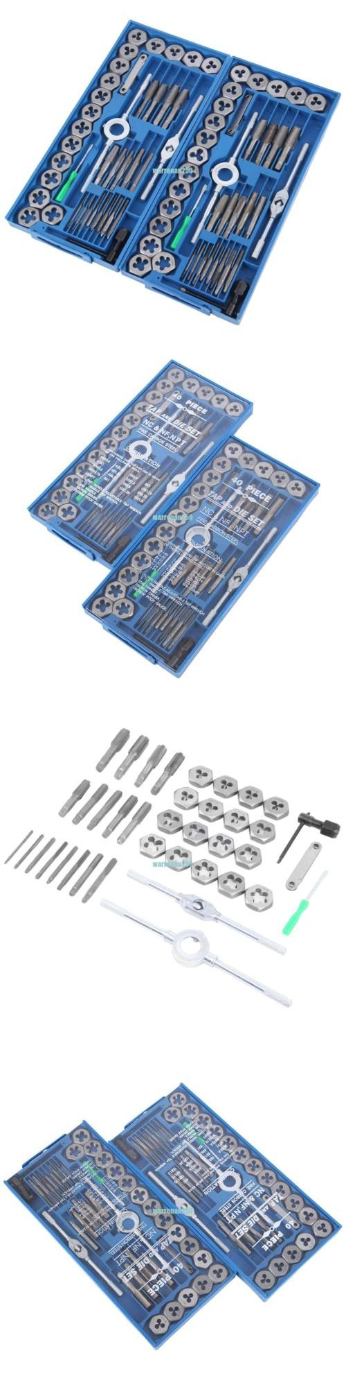 Pc sae u metric tap and die set screw extractor remover chasing w