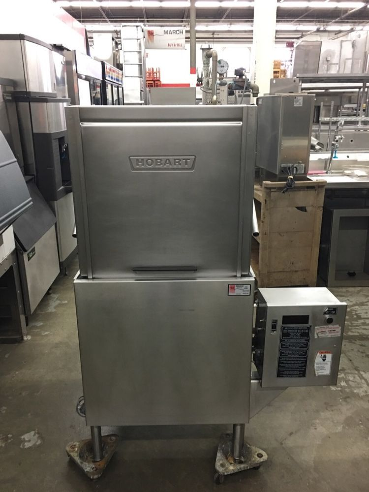 Hobart AM-14 - High Temp Door Type Dishwasher - Refurbished