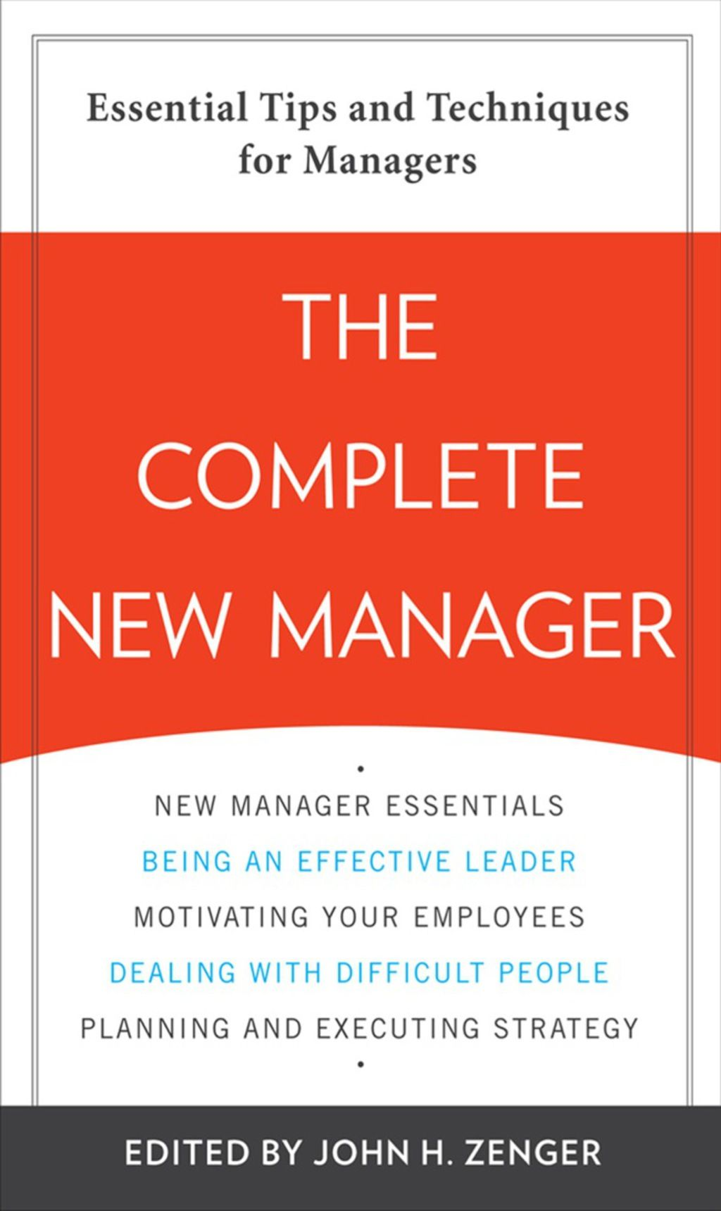 The Complete New Manager (eBook) Management, Management