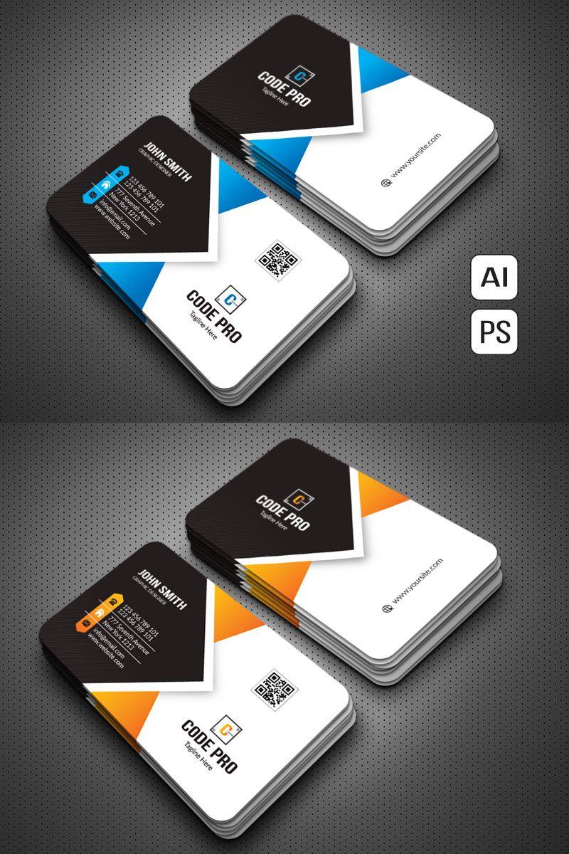 Custom Standard Business Card Corporate Identity Template Business Cards Corporate Identity Graphic Design Business Card Free Business Card Design
