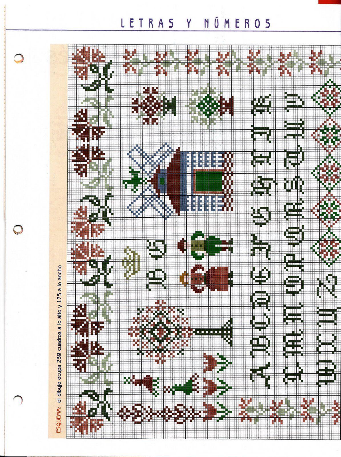 Pin de Karen Goodwin en Cross Stitch Samplers | Pinterest | Punto ...