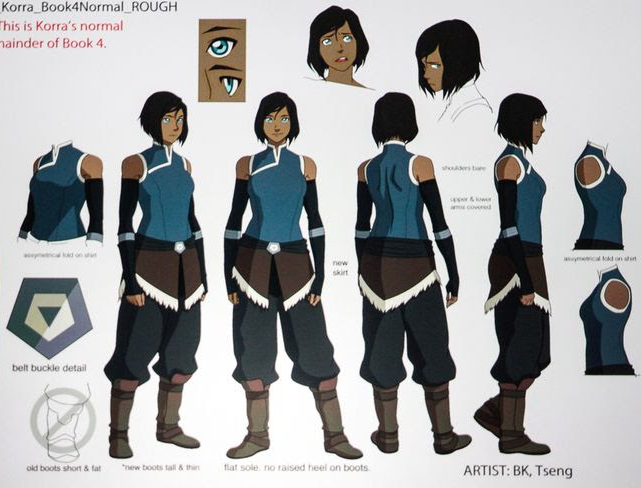 Commission Request Legend of Korra Korra Cosplay Costume CP1811795