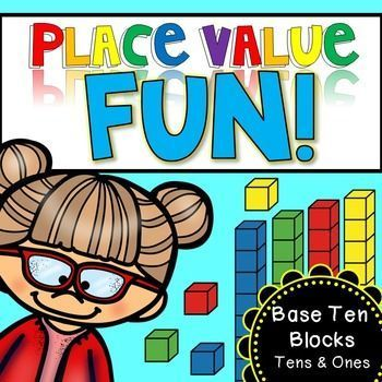 Place Value Fun worksheets! This product has 18 different worksheets to practice place value.  This packet focuses on ones and tens place value only.   I have also included a set of clip cards (24 cards) and a tens and ones place value sorting mat for free!