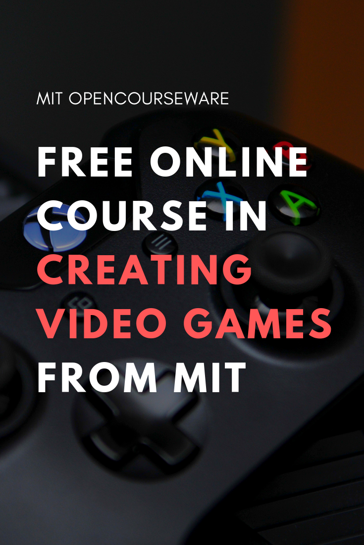 Creating Video Games Computer science and design course
