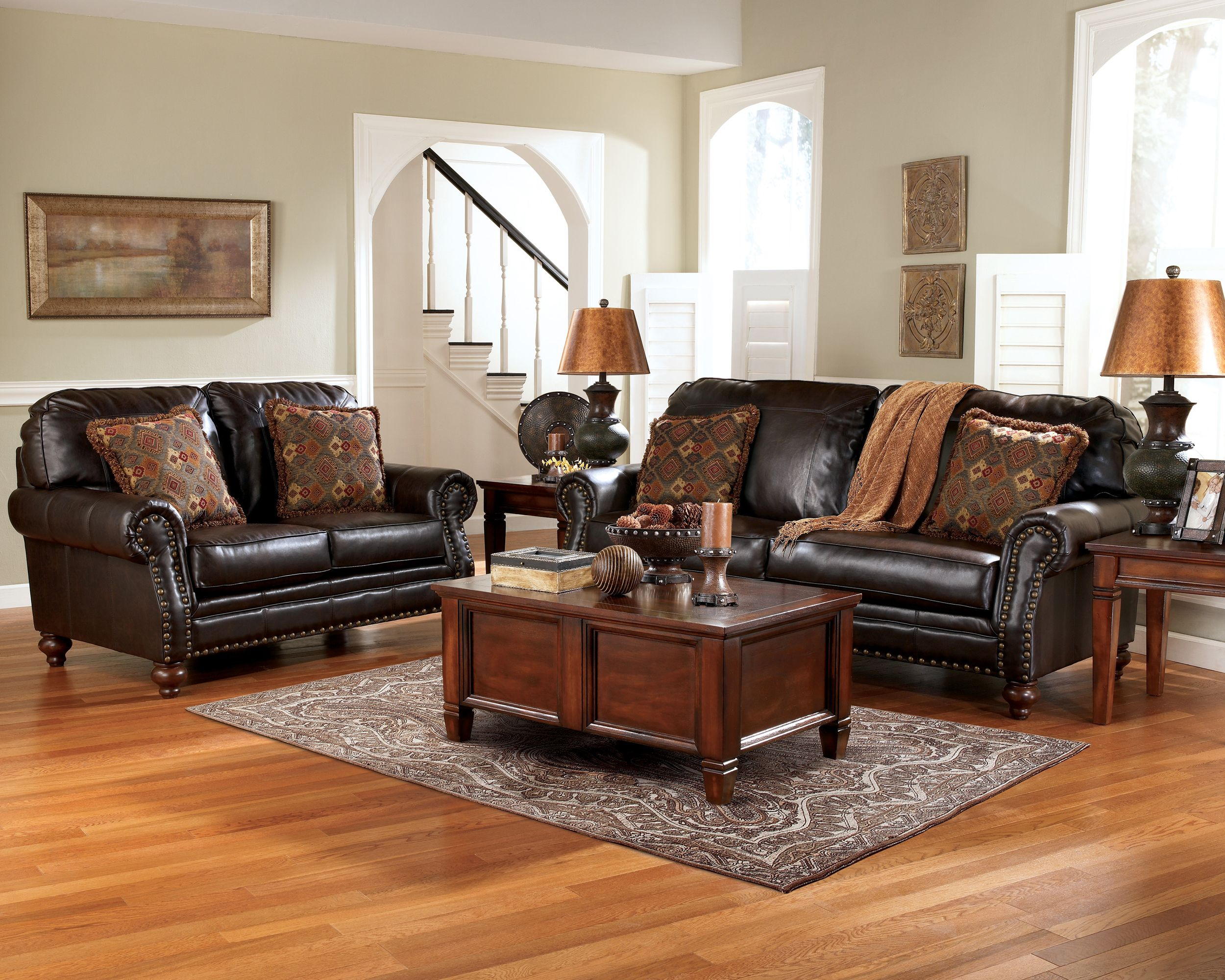 Laurelton Reclining Sofa Furniture Cincinnati OH