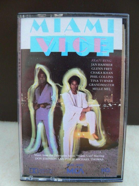 Miami Vice Secret Cassette Booklet Etsy Miami Vice Cassette Cassette Case