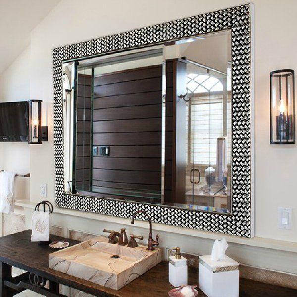 long island custom mirrors bathroom mirror frame large on custom bathroom vanity mirrors id=49931