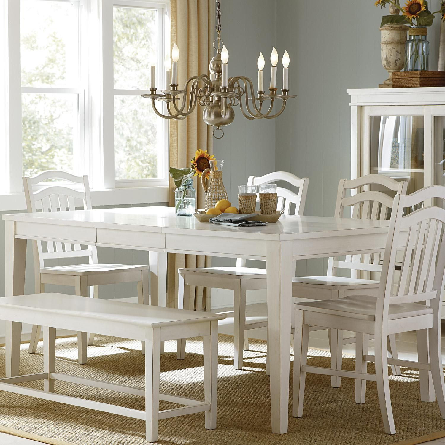 Summerhill Rectangular Leg Table By Liberty Furniture Available At Darvin