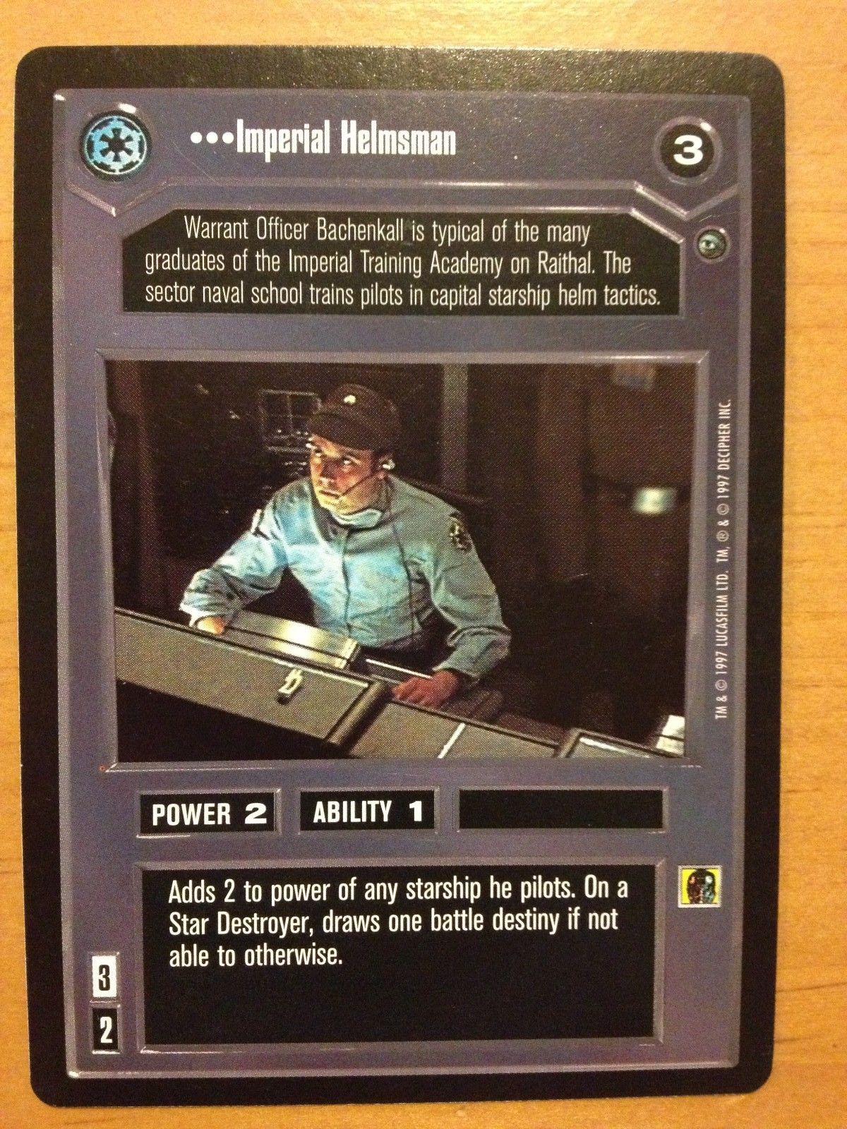 Star Wars CCG Dagobah Limited BB This Is More Like It