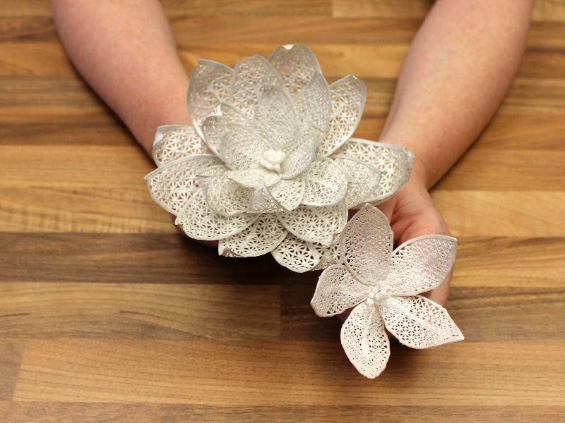 Cake Lace Fantasy Flower Tutorial Baking Decorating