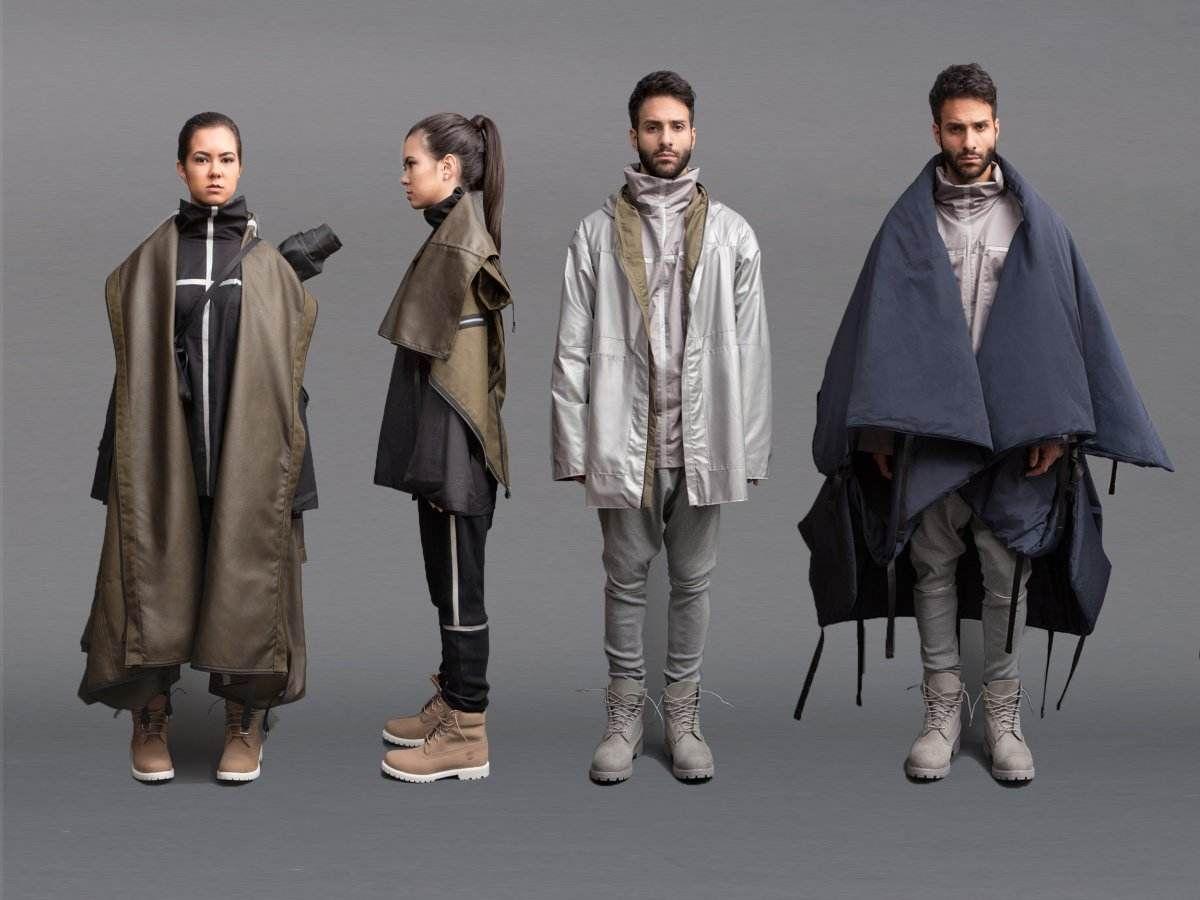 Estudante cria linha de roupas para refugiados
