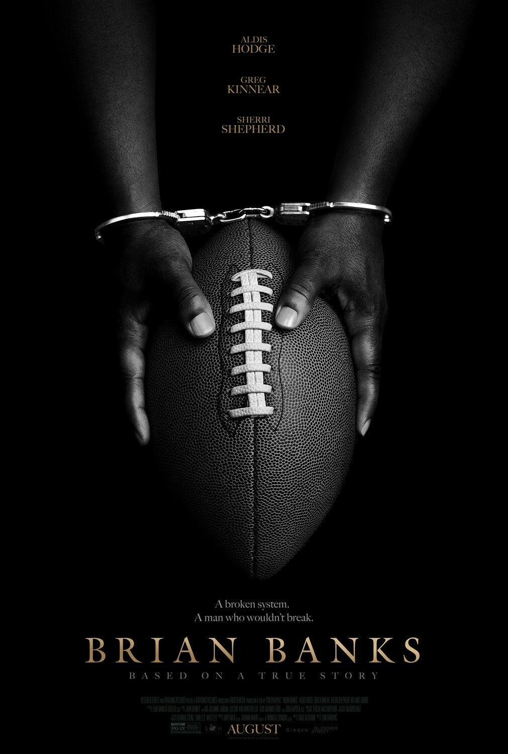 The Poster For The Drama Brian Banks Brianbanks Movieposter