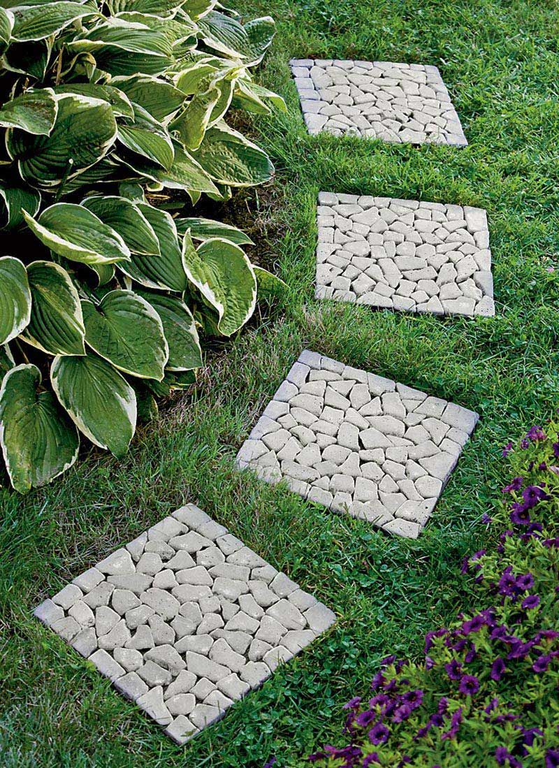 beautiful garden paths made of natural stone garden paths