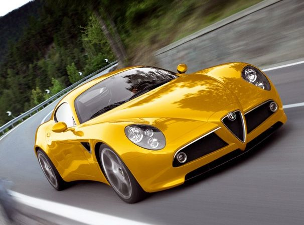 2007 Alfa Romeo 8C Competizione - New Flash Mini Site