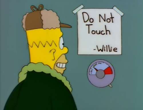 Too Hot To Handle Too Cold To Hold Homer Simpson Quotes
