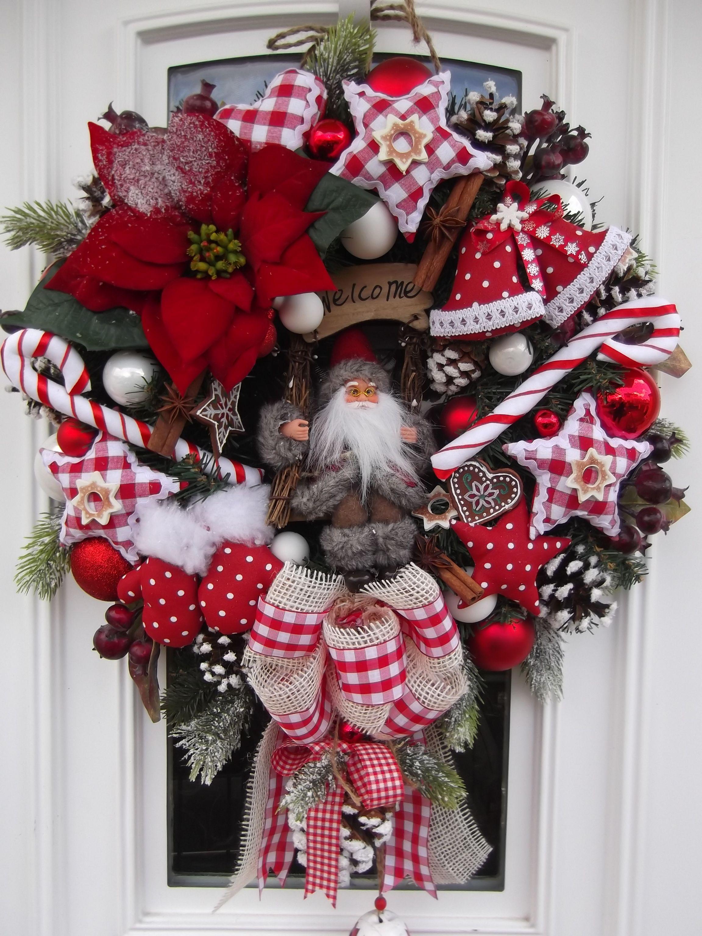 Різдвяний віночок Рождественские венки
