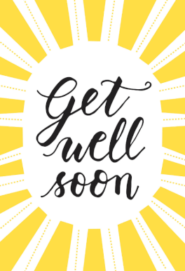 Sunny Day Get Well Soon Card Free Greetings Island Free Get Well Cards Get Well Soon Get Well Messages