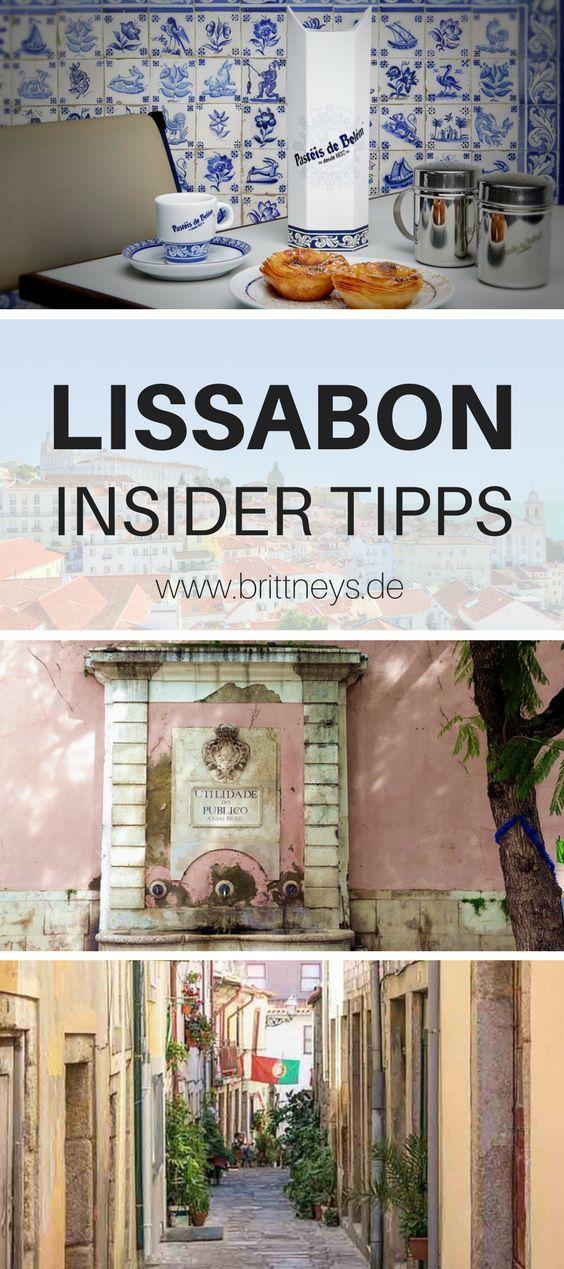 12 Lissabon Sehenswürdigkeiten Insider-Tipps v. Brittneys #portugal