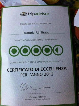 Trattoria F.lli Bravo, Torino: su TripAdvisor trovi 767 recensioni imparziali su Trattoria F.lli Bravo, con punteggio 4,5 su 5 e al n.46 su 3.237 ristoranti a Torino.